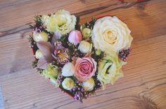Heart Flower box #love #red