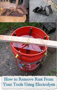 Welcome to living Green & Frugally. We aim to provide all your natural and frugal needs with lots of great tips and advice, How to Remove Rust From Your Tools Using Electrolysis