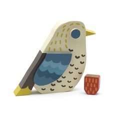 I <3 birds :)  This one created by Matt Sewell for the Victoria & Albert Museum, London