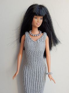 A long dress for Barbie.