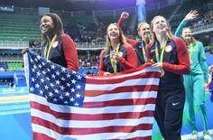 Michael Phelps, Simone Manuel cap a dominant Olympic swim meet for U.S. - The…