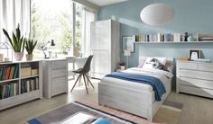 Angel single bed from Ashgate Furniture Co, Chesterfield ⋆ Free delivery ⋆ View our full range of beds, sofas, dining & storage Under Bed Drawers, Light Oak, Furniture Companies, How To Make Bed, Teen Bedroom, Girl Room, Angeles, Home Decor, Rooms