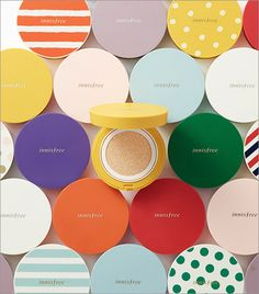 Red Dot Design Award: innisfree My Cushion Packaging Box, Pretty Packaging, Beauty Packaging, Cosmetic Packaging, Brand Packaging, Product Packaging, Jewellery Packaging, Packaging Inspiration, Makeup Package