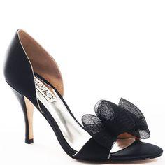 Xango - Black Satin - Yvonne's #shoes