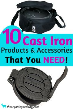 Cast Iron Products And Accessories, Cast Iron Pans, Cast Iron Cookware, Best Cast Iron Products