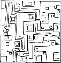 geometric coloring pages | Geometric Design 23 Coloring Page ...