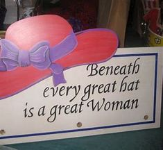 quotes about hats - Bing images Red Purple, Red And Pink, Red Hat Club, Hat Quotes, Red Hat Ladies, Wearing Purple, Red Hat Society, Diva Design, Hat Crafts