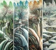 Page 3 Buy Chinese landscape paintings from China & World's Largest Online Chinese Painting Gallery. Asian oriental landscape paintings for sale. Chinese Landscape Painting, Chinese Painting, Chinese Art, Landscape Paintings, Landscapes, China World, Painting Gallery, Environment Design, Paintings For Sale