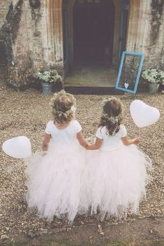 Blush Pink Flower Girl Tulle Skirt in by princessdoodlebeans, $35.00