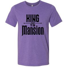King of the Mansion Men's Tshirt