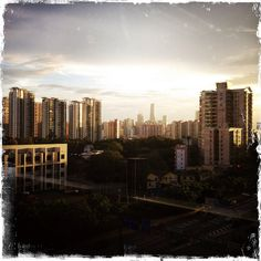 夕阳下 | Canton, China