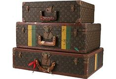 Louis Vuitton luggage from the Chessy Rayner sale