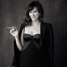 Maggie Siff by Katie Bofshever (IG: wears our Kain Ear Jackets. Cigars And Women, Women Smoking Cigars, Cigar Smoking, Business Lady, Business Women, Sons Of Anarchy Tara, Maggie Siff, Cigar Art, Train Posters