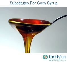 This is a guide about substitutes for corn syrup. Many recipes call for corn syrup, there are some easy replacements you can use if necessary.