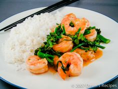 Spicy Wok Shrimp with Coconut Rice More