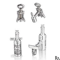 Thursday, February 18th is National Drink Wine Day 2016! Cheers! #rotenier #sterlingsilver #cufflinks #NationalDrinkWineDay