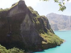 Descending down into Mount Pinatubo Angeles City Philippines #mountpinatubo #pampanga #angelescity