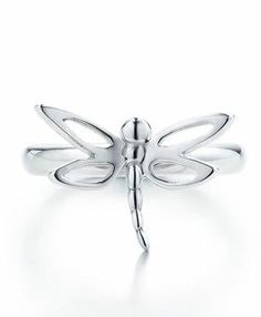 Tiffany & Co Dragonfly Silver Ring