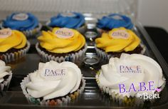 PACE University cupcakes