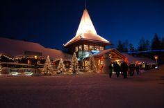 3. Деревня Санта-Клауса - Лапландия, Финляндия