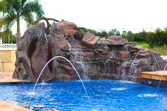 Custom Rock Water Features