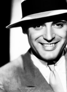Cary Grant- he had only one central incisor. Interesting! Oh my WORD! I never EVER would have noticed!