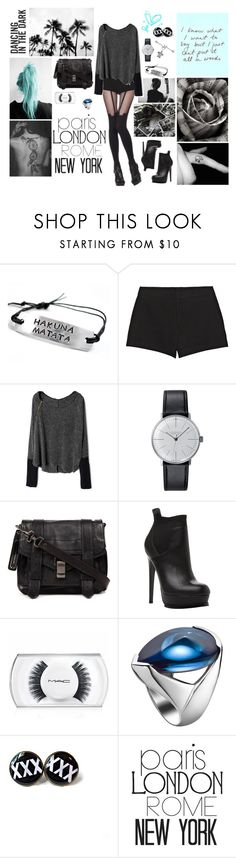 everyone around me says i'm crazy, probably they're right by akemi-kiryu on Polyvore featuring Gucci, Steve Madden, Proenza Schouler, Klein & more, Baccarat, MAC Cosmetics, Prada and bedroom