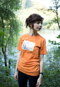 Buy & sell new, pre-owned & vintage fashion Snowdonia, Burnt Orange, Graphic Prints, Vintage Fashion, Buy And Sell, Unisex, T Shirt, Stuff To Buy, Supreme T Shirt