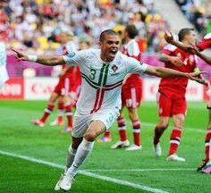 Pepe- Portugal vs. Denmark 2012