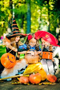 Children celebrating Halloween Royalty Free Stock Photo. Get awesome discounts on images, illustrations, Videos and music clips at iStockphoto with Coupons.