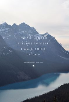 """No Longer Slaves"" by Jonathan David & Melissa Helser // Phone scr Christian Life, Christian Quotes, Worship Wallpaper, Bethel Music, Bethel Lyrics, Bible Verses Quotes, Scriptures, Verses On Fear, Christian Wallpaper"