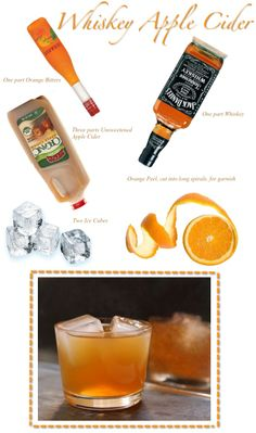 Fall drink...this will be my drink of choice on Halloween while sitting at home giving out candy...lolz