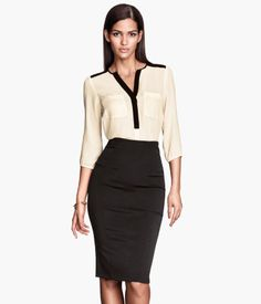 pencil skirt- Product Detail | H&M GB
