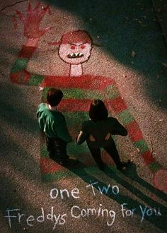 Never sleep again -...Nightmare On Elm Street 6 Freddy's Dead movie related to note