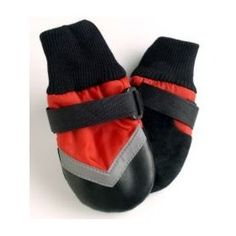 LG BLK/Red Dog Boots $14.79