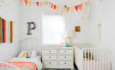 Inspiring Shared Kids Rooms for a Big and a Little
