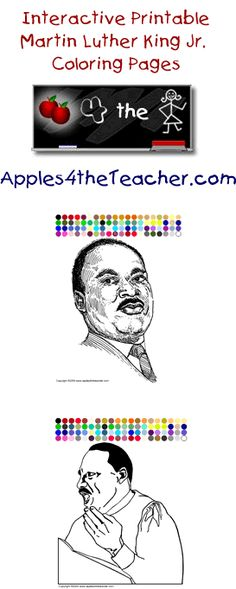Coloring Sheet Of Martin Luther King Jr : Martin luther king jr coloring pages fashion pinterest peace