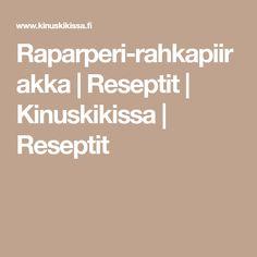 Raparperi-rahkapiirakka   Reseptit   Kinuskikissa   Reseptit Food And Drink, Baking, Sweet, Sun, Bakken, Bread, Backen, Postres, Roast