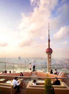 Shanghai rooftop bar