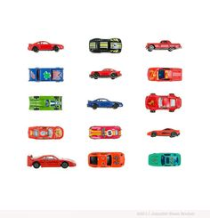 """""""My Sports Car Collection"""" by Jennifer Booher"""