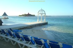Small ceremonies can be held at the gazebos at Sandals Royal Caribbean