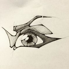 #eye #pen #drawing #sketch #ink #draw #illustration #illustrator #art #artist #vision #open #eyebrows #see #view #ballpoint #ballpointpen #eyeliner #retna #iris #eyeball
