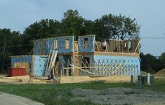 Wit Ventures: Big Boost For Sarnia-Lambton Real Estate Market. Building Construction Materials, New Home Construction, Home Building Tips, Building A House, Best Home Plans, Build Your Own House, Custom Home Designs, Tiny House Plans, Catania