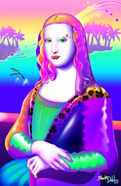 Mona Lisa Frank!!!!! i laughed waaaaay too hard at this!!