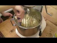 Příprava náplní, žloutkový krém, smetanové bílkové trvanlivé náplně