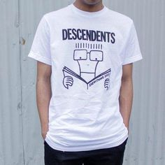 Descendents Everything Sucks Slimfit Shirt Band Shirts, Album Covers, Everything, Slim, Printed, Tees, Classic, Mens Tops, Cotton