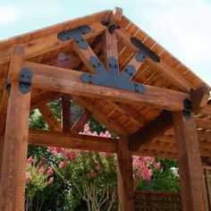Backyard Pavilion, Patio Gazebo, Backyard Patio Designs, Outdoor Pergola, Pergola Swing, Pergola Designs, Pergola Attached To House, Deck With Pergola, Pergola Ideas