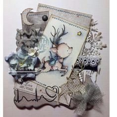 Noor! Design Sending Love stempels