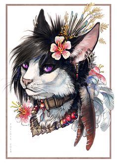 Blossom by Tatchit.deviantart.com on @DeviantArt