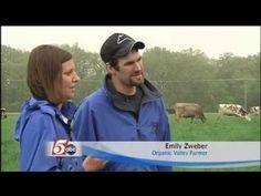 Zweber Family Farm talks organic farming with MN news reporter